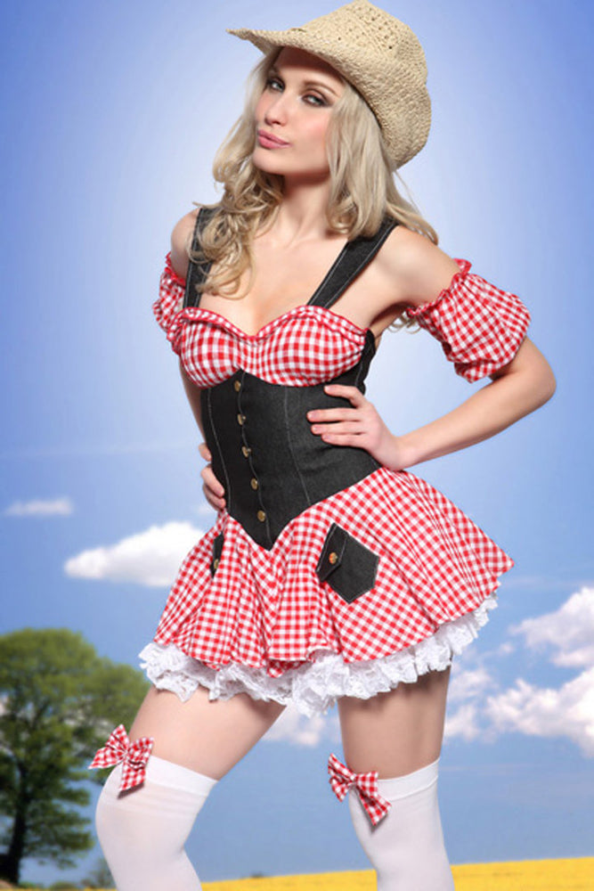 Savannah Countrygirl Outfit - organza-lingerie