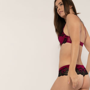 Sheryl Push-up BH cherryred