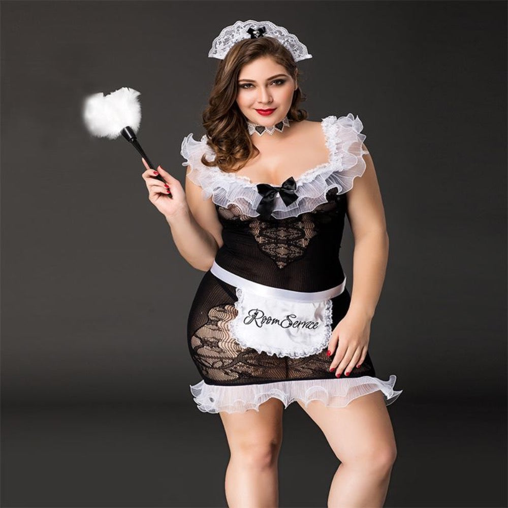 Maid Plussize Set P71107