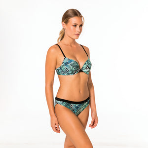 Jungle Push Up Bikini Top mit Jungelprint neu - organza-lingerie