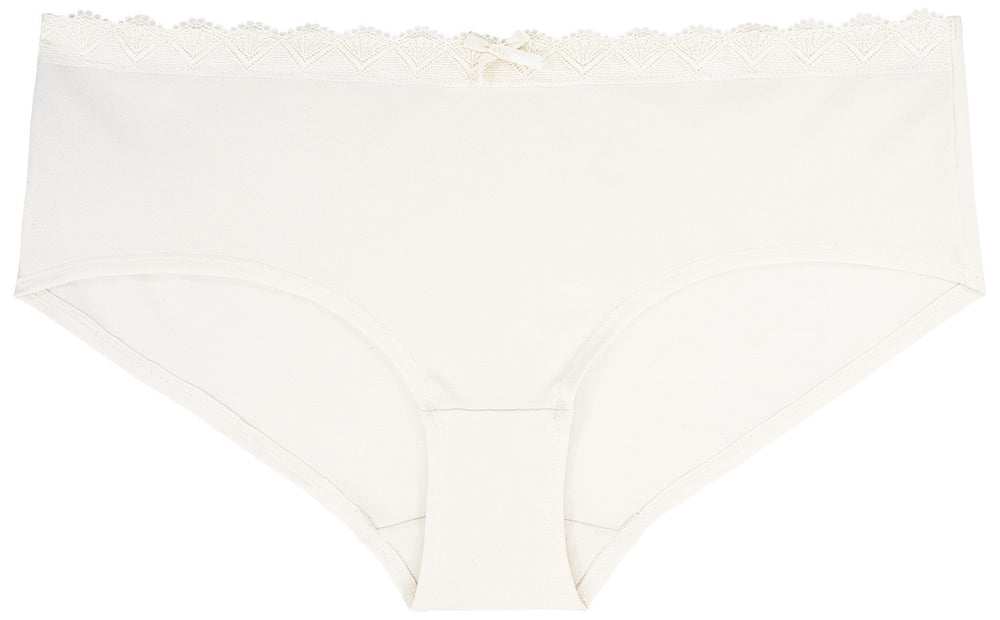 Curve Hipster Sonja ivory - organza-lingerie