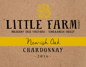 2016 New-ish Oak Chardonnay