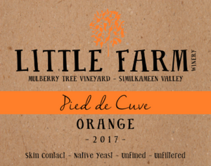 2017 Pied de Cuve Orange