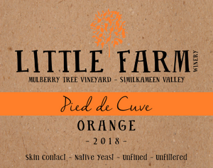 2018 Pied de Cuve Orange (NEW RELEASE!)