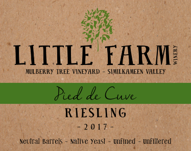 2017 Pied de Cuve Riesling (NEW RELEASE!)