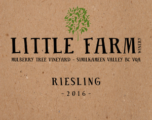 2016 Mulberry Tree Vineyard Riesling