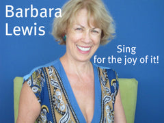 barbara sing for the joy of it