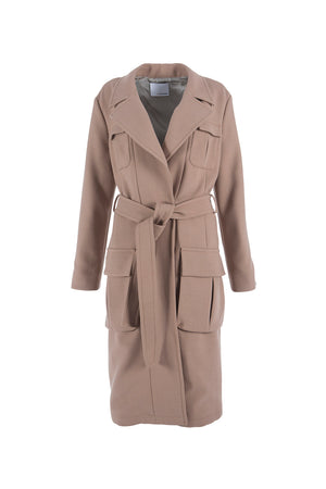 Women's Twill Belted Trenchcoat