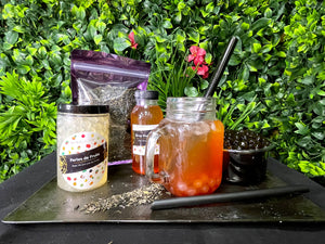 Kit 15 Bubble Tea aux fruits