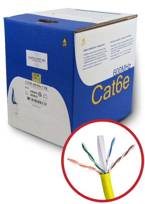 CAT6 SHIELDED RISER (CMR)RP