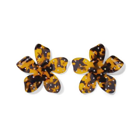 Ava Earrings - Tortoise