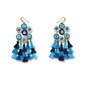 Kata Earrings-Sea