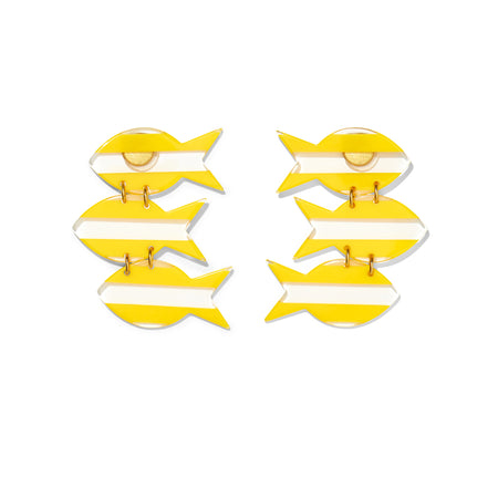 Mara Earrings- Yellow