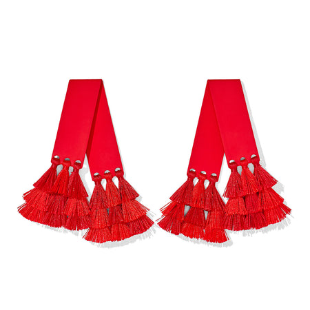 Mambo Earring - Red