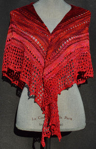 YarnFlower Gradient Shawl Pattern