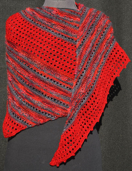YarnFlower Ruana/Wrap #959