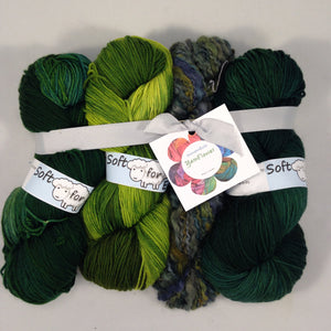 YarnFlower Ruana/Wrap #953