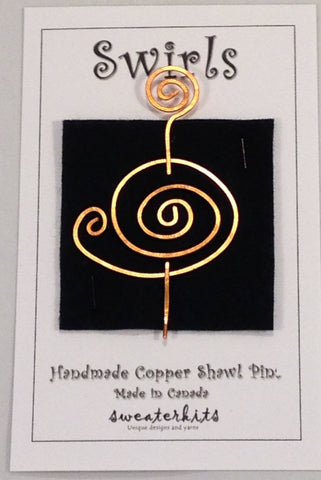 Swirls Copper #C3