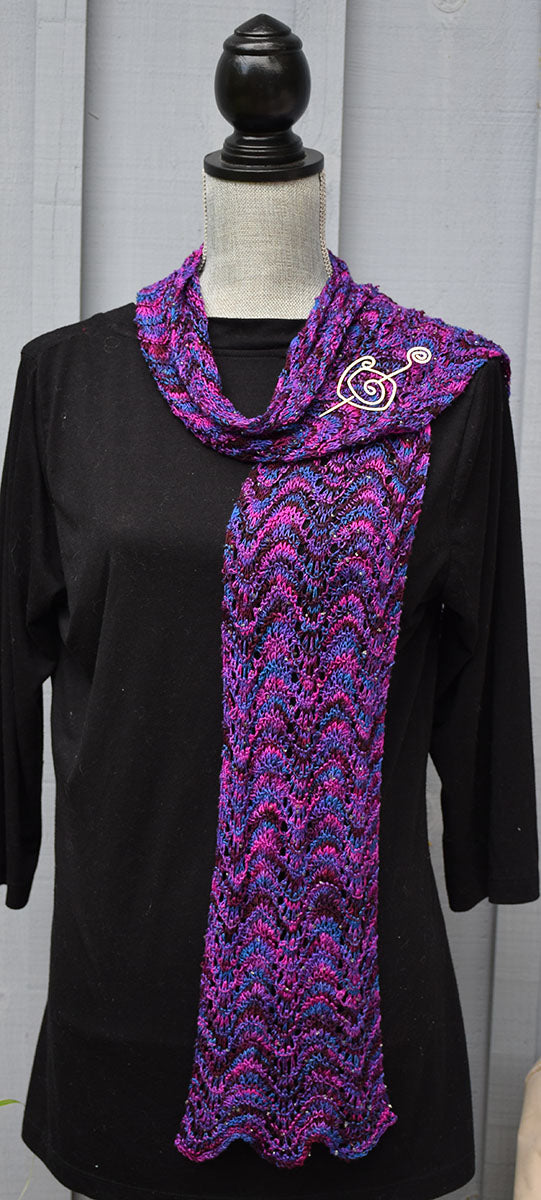 Silk Lace Scarf Pattern