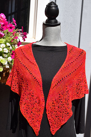 Silk Anywhere Shawl Pattern