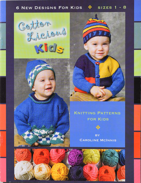CottonLicious Kids Pattern Book