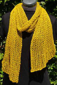 Silk Lattice Scarf Pattern