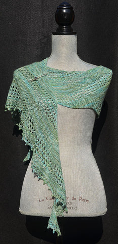 Silk Stitches Shawl Pattern