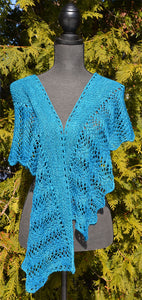 Two Skein Silk Lace Shawl Pattern