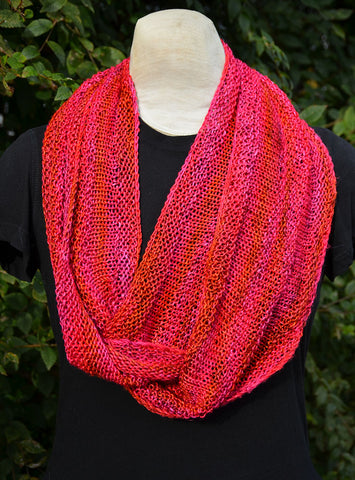 Silk Infinity Circle Cowl Pattern
