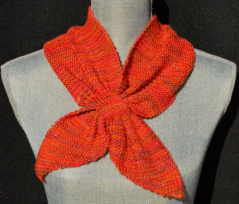 Twin Tail Scarf Pattern