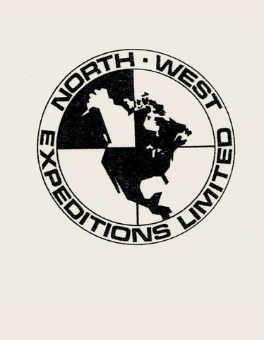 Dad's Original Hand Drawn logo from North-West Expeditions