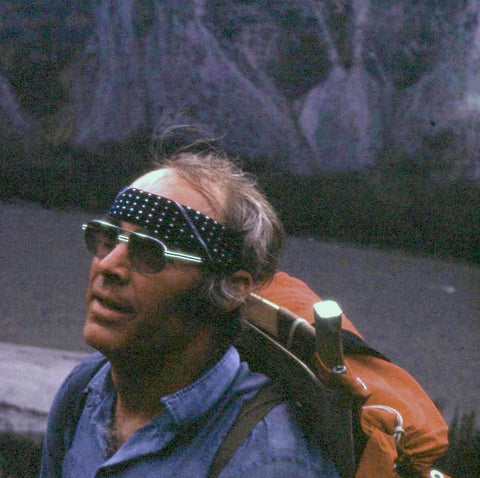 Riverman Dr. David David Rowe a few years before he became a doctor of psychology - North-West Expeditions