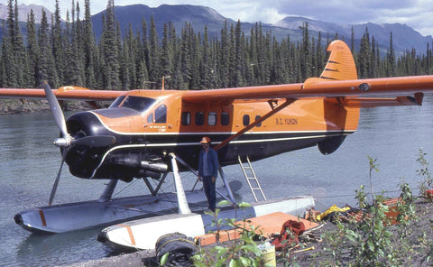 Float Plane lands the North-West Expeditions Team