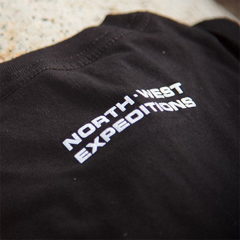 North-West Expeditions Icon Tee Shirt - Back close up