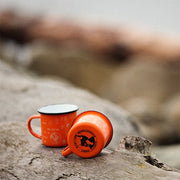 North-West Expeditions Campfire Mugs (on a log)