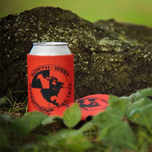 North-West Expeditions Thin Koozie by tree hidden