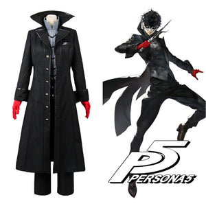 Cosplay Costume Persona 5 Joker Anime cosplay Full Set Uniform for Party Halloween