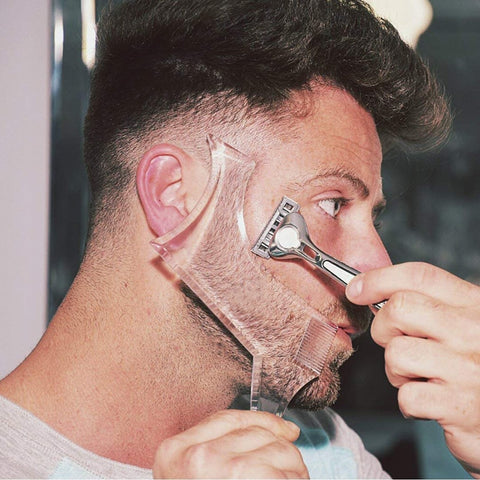 Styling - Follow me - Template for Beard Shaving