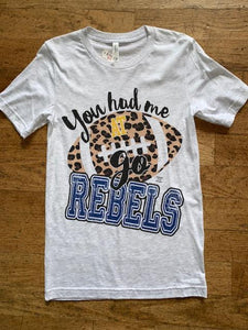 Go Rebels Tee