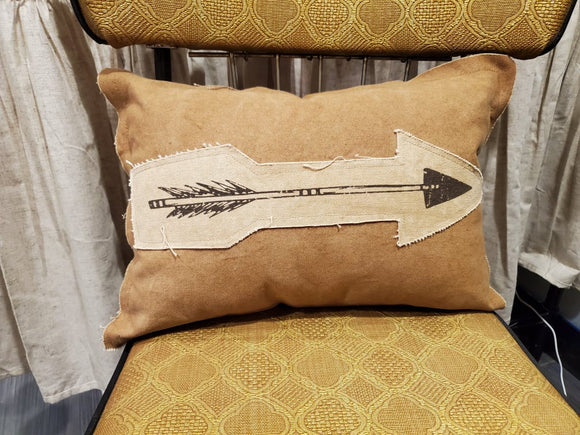 Arrow Applique Pillow
