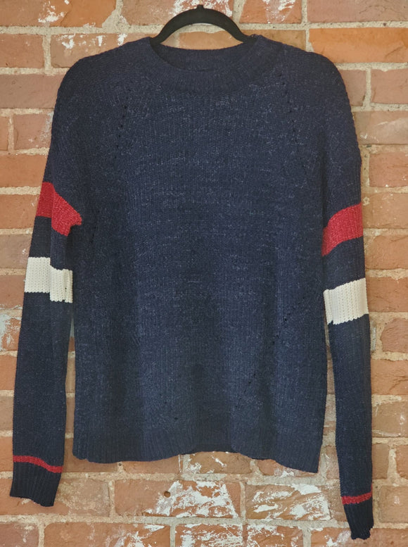 Dark Navy Rugby Sweater