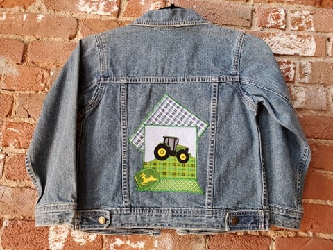 Kids Patchwork John Deere Jacket