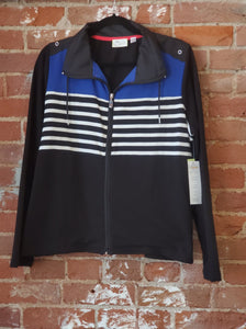 Black Jacket with Stripes