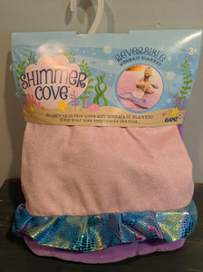 Reversible Mermaid Blanket