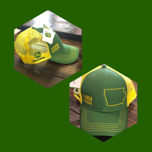 John Deere Farm Iowa Hat