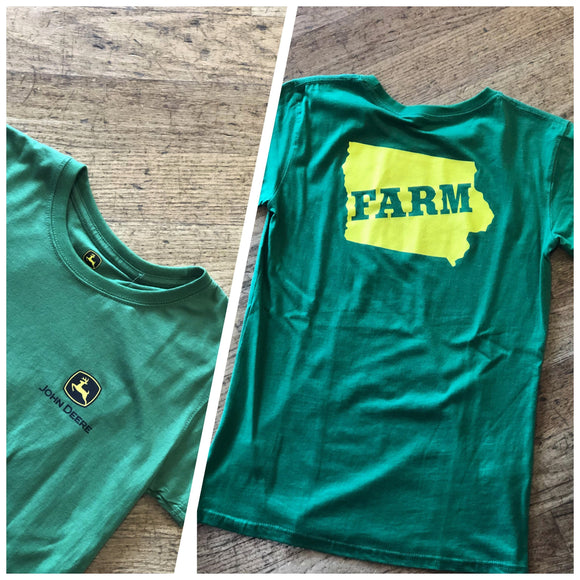 John Deere Iowa Farm Tee