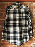 Woodbine Tigers Black and White Plaid, Plus Size