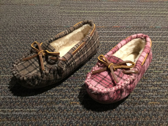 Kid's Plaid Cassie Slipper