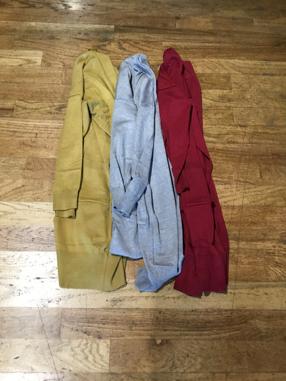 Pocket Duster Cardigans