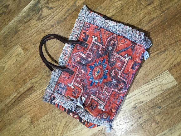Aztec Woven Tote